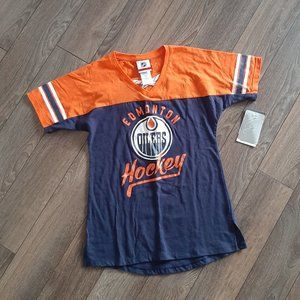 NHL Oilers Girls Tee